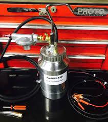 evap smoke machine diagnostic emissions vacuum w evap adapter removal tool