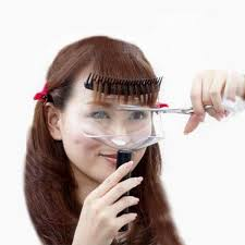 china diy portable trimmer hair fringe
