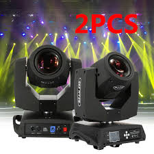 J Maz Lighting Aero Sport 60 2pcs 230w Zoom Moving Head Light 16 Prism Beam Gobo Spot Dmx 7r Stage Party Show