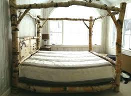 full size wood canopy bed – keepsakestorage.info