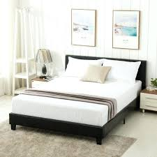 queen size leather bed modern leather queen size storage bed frame