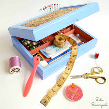 baubles to bobbins a valet turned sewing kit