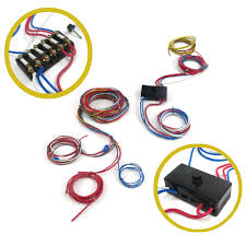 keep it clean wiring accessories fuses on sears keep it clean wiring accessories kicgfk1062505 glass fuse wire harness for 1961 66 ford truck