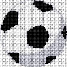Soccer Ball Cross Stitch Cross Stitch Cross Stitch