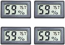 Veanic 4-Pack Mini Digital Electronic Temperature ... - Amazon.com