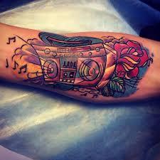 татуировки в стиле цветные тату эскизы и фото галерея работ тату