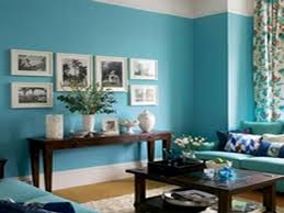 blue walls brown furniture. Cosy Sea Blue Living Room In Ideas Brown Sofa Color Walls Furniture