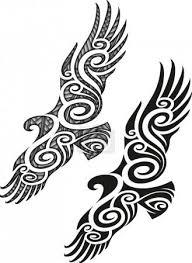 Vektor Vzor Maorského Tetování Orel 35808431 Fotobanka Fotkyfoto