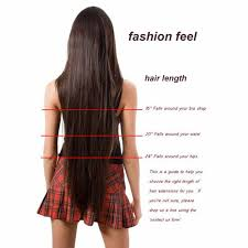 Clip In Hair Extension Length Chart S Noilite 8 Piece 66cm Piano Colors Clip In Hair Extensions Full Head Synthetic Heat Resistant Hair Extension Women Hairpiece