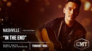 "Mindy Smith on Twitter: ""Yay!! This song, ""In The End"" that I wrote with  @Dustinonline will be featured on @NashvilleCMT tonight 7/27 8/9C.  #whoop!!! @SamPalladio… https://t.co/cenusBY2pT"""
