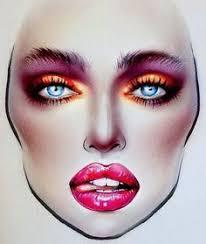 81 Best Milk1422 Face Charts Images Makeup Face Charts