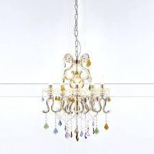 multi coloured chandelier caramel 5 light ceiling