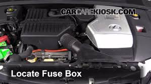 replace a fuse lexus rx lexus rx l v locate engine fuse box and remove cover