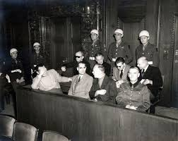 the nuremberg trials org the defendants and participants in the trial at the opening day of the trial 20 1945