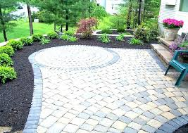 paver patio cost brick per square foot average of how much does a