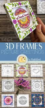 <b>3D</b> FRAMES | <b>Valentine's Day</b> Greetings to <b>Color</b> - Hattifant