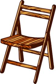 chair clipart. free simple wooden folding chair clip art clipart