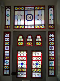 full image for cool stained glass victorian front door 114 victorian stained glass door for