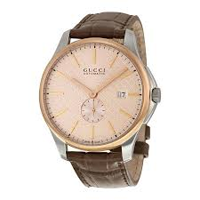 gucci g timeless large automatic rose dial men s watch ya126314