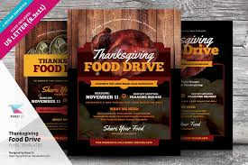 Food Drive Flyers Templates Thanksgiving Food Drive Flyer Templates Thanksgiving Food