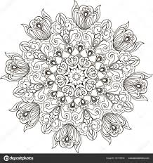 25 Het Beste Kleurplaten Bloemen Mandala Mandala Kleurplaat Voor