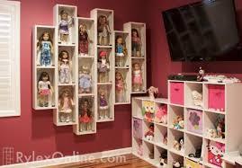 american girl doll display case