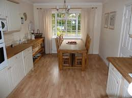 using laminate flooring in kitchen