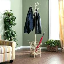 Traditional Dark Walnut Finish Wood Coat Rack rack Traditional Coat Rack Wall Mounted Home Designing In Target 8