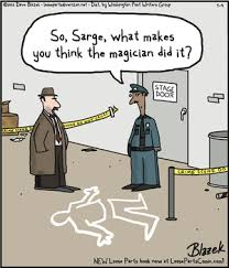 cartoon of the day the magician did it