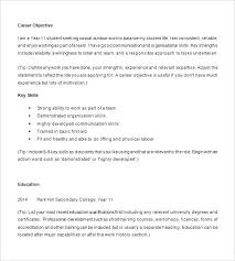 High School Student Resume First Job High School Student Resume Examples Example Of Resumes For Students
