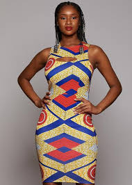 African Pattern Dress Enchanting African Print Dresses African Clothing From D'iyanu D'IYANU
