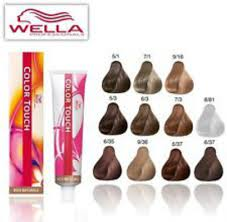 Wella Color Touch Chart 23 Faithful Koleston Colour Charts