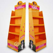Display Stands For Pictures Custom Cardboard Display Stands FLDS100 China POP POS Display 84