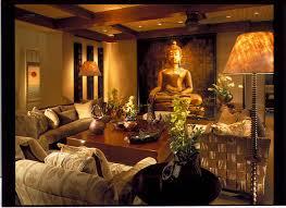 Family Room asian-family-room