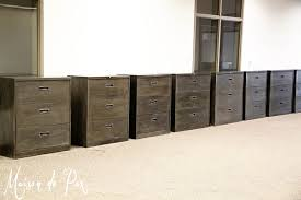 File Cabinet Paint How To Give Metal A Brushed Steel Look Maison De Pax