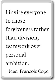 Personal Quotes Interesting Amazon I Invite Everyone To Chose Forgiveness R Jean
