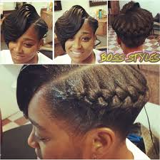 Goddess Hair Style ridges with a goddess braid interesting style shared by tomeka 1161 by wearticles.com