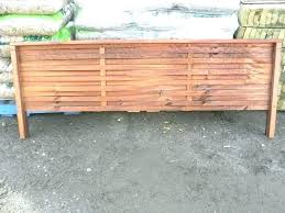 wall toppers fence toppers woven fence topper cedar stained capped screening trellis x spinning fence topper