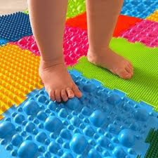 Amazoncom Orthopedic massage puzzle floor mats First steps carpet