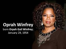 powerpoint biography oprah winfrey biography authorstream
