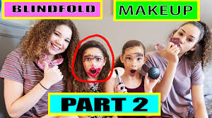haschaksisters on twitter hey guys check out this week s blindfolded makeup challenge part 2 watch here s t co o31yximyg8