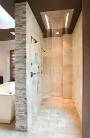 showers shower stone walls quartz shower walls bathroom contemporary with beige stone wall double image