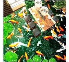 pond decorations small fish pond decorations