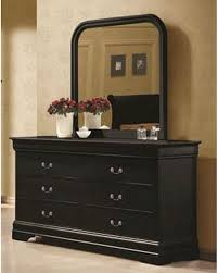 mirrored furniture toronto. Coaster Louis Philippe Dresser W Mirror In Black Co Image With Captivating Mirrored Furniture Nightstand Toronto