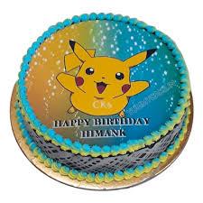 Pokemon Birthday Cake Pokemon Cake Design Price