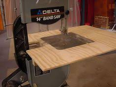 table band saw. making a band saw auxiliary table