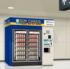Airport Vending Machines Inspiration Get Prepaid SIM Card At Narita Airport Vending Machines Available