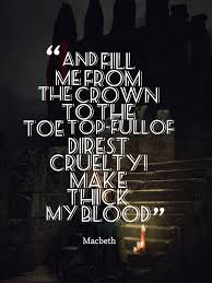 Lady Macbeth Prepares Herself To Welcome Duncan Only To Kill Him Amazing Lady Macbeth Quotes