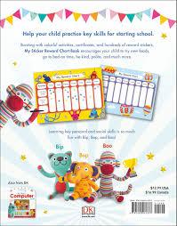 Skills For Starting School My Sticker Reward Chart Book Dk