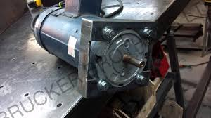yet strong motor mount i cut a few pieces of angle and flat and then modified them and welded them together to make the needed mount